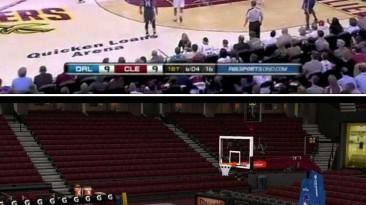 "NBA 2K11 ""HD площадка Кливленда"""