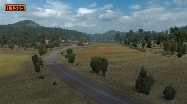 "Euro Truck Simulator 2 ""Карта: Реставрация Северной Македонии 1.4.1 (v1.40.x)"