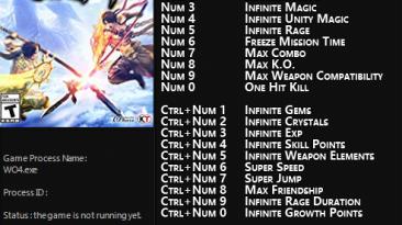 Warriors Orochi 4: Трейнер/Trainer (+22) [v1.0] {FLiNG}