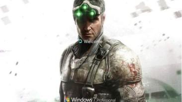 "Splinter Cell Blacklist ""Тема Windows 7 (x86)"""