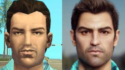 GTA: Vice City в 2020 году - художник показал, как бы выглядел Томми Версетти