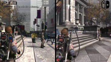 Сравнение Ghostbusters: The Video Game - Switch vs. PS3