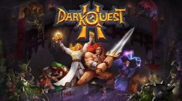 В Steam вышла пошаговая ролевая игра Dark Quest 2