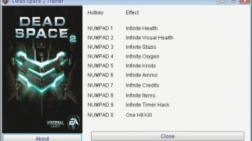 Dead Space 2: Трейнер/Trainer (+10) [All Versions] {GRIZZLY/PlayGround.ru}