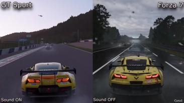 Сравнение погоды в Gran Turismo Sport и Forza 7