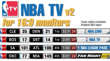 "NBA 2K13 ""NBA TV v2"""