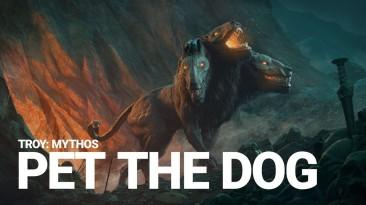 Геймеры смогут почесать пузо Церберу в В Total War Saga: Troy