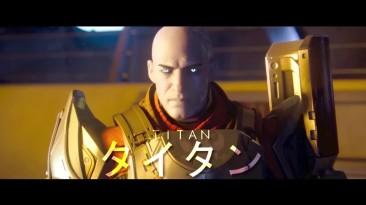 Вступительный ролик Destiny в аниме-стиле