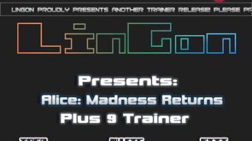 Alice - Madness Return: Трейнер (+9) [1.0] {LinGon}