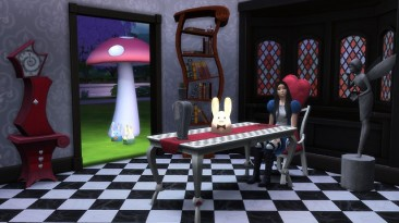 "Sims 4 ""Столовая TS3 to TS4 Alice Madness Return"""