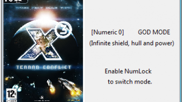 X3: Terran Conflict: Трейнер/Trainer (+3) [3.2c] {Helmut}