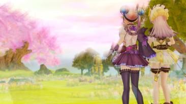 Новые персонажи Atelier Lydie & Suelle - андрогин Альто и властная Луиза (не Лавальер)