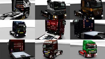 """Euro Truck Simulator 2 """"Мод Значки На Грузовике v1.1.3.96 (1.39.x)"""""""