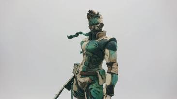 Удивительная фигурка Солид Снейка, созданная на основе знаменитого дизайна Ёдзи Синкавы из Metal Gear Solid (PS1)