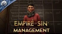 Система менеджмента в новом трейлере Empire of Sin