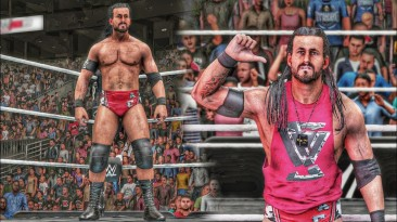 "WWE2K18 ""Мод ADAM COLE 2K20 Порт"""