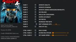 Zombie Army 4: Dead War: Трейнер/Trainer (+13) [1.0 - 1.873599] {FLiNG}