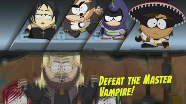 South Park- The Fractured But Whole DLC - Мастер Вампир Кефир Сазерленд