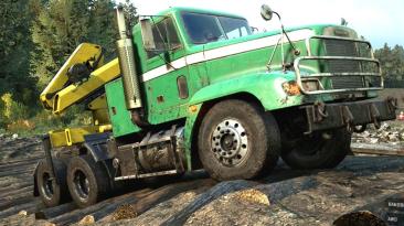 """SnowRunner """"Грузовик Freightliner M916A1 TT v1.0.2 (v15.0)"""""""