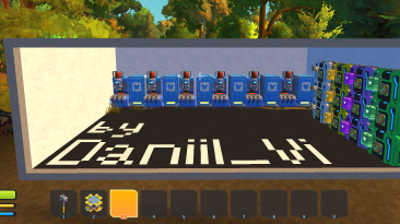 """Scrap Mechanic """"Map - to open All Clothers"""""""