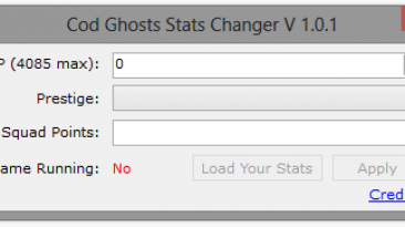 """Call of Duty: Ghosts """"Stats Changer v1.0.1"""""""