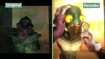 "Oddworld ""Сравнение версий Original vs Remake"""