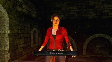 "Dark Souls 2 ""Клэр Редфилд и зомби"""