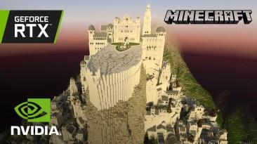 Средиземье под трассировкой - вышел новый трейлер Minecraft RTX