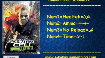Tom Clancy's Splinter Cell: Double Agent : Трейнер/Trainer (+4) [v1.02] {Abolfazl.k}
