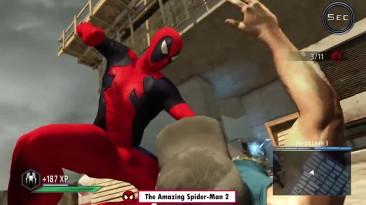 Эволюция костюма DEADPOOL в играх про человека паука