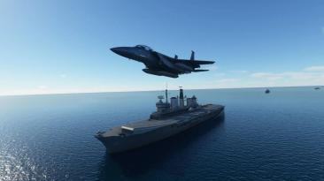 Бесплатная надстройка Global AI Ship Traffic для Microsoft Flight Simulator добавляет в море тонны кораблей