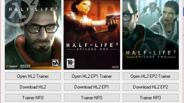 Half-Life 2 Trilogy: Трейнер/Trainer (+6) [HL2 / Ep1 / Ep2] {SeryogaSK}