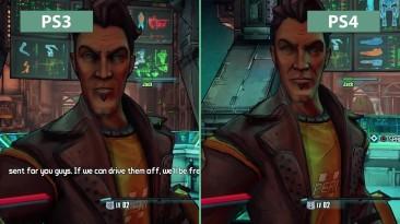 """Borderlands: The Pre-Sequel """"детальное сравнение на PS3 vs. PS4"""""""
