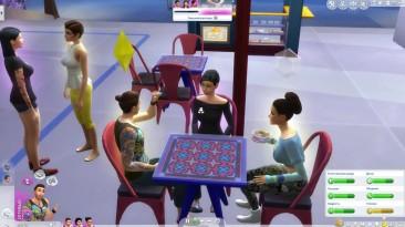 The Sims 4 Жизнь В Городе #4 Фестиваль смеха