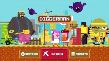 Трейлер Diggerman для Nintendo Switch