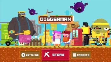 Трейлер Diggerman для Nintendo Switch