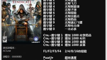 Assassin's Creed: Syndicate: Трейнер/Trainer (+19) [1.12 - 1.31] {FLiNG}