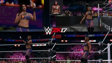 "WWE 2K17 ""Ember Moon '21 Наряд (Лицевая анимация) WWE 2K19 Порт Мод"