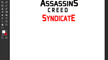 "Assassin's Creed: Syndicate ""Шрифт для фотошопа и прочих редакторов"""