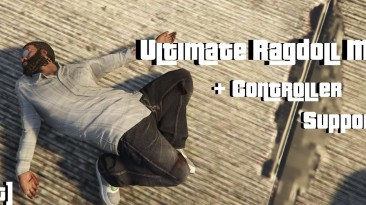 "GTA 5 ""Ultimate Ragdoll Mod [.NET] v2.0"""