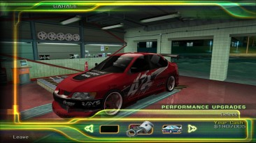 "Street Racing Syndicate ""Mitsubishi Lancer Evolution VIII Tokyo Drift Vinyl"""
