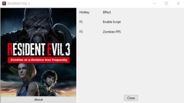 "Resident Evil 3 ""Улучшенный FPS зобми"""