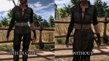"Witcher 3: Wild Hunt ""Ciri DLC outfit with corset and Yen DLC outfit with pants\ Корсет для альтернативного облика Цири и штаны для альтернативного облика Йен"""