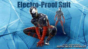 """Spider-Man: Web of Shadows """"Electro-Proof Suit"""""""