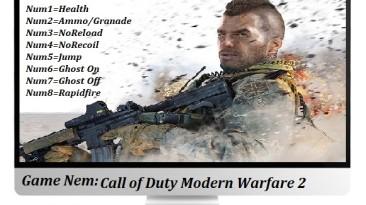 Call of Duty: Modern Warfare 2: Трейнер/Trainer (+8) [1.0 - 1.1] {Abolfazl.k}