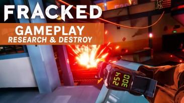 Новый геймплейный трейлер Fracked