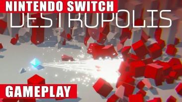 Видео игрового процесса шутера Destropolis
