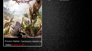 Carnivores: Dinosaur Hunter Reborn: Трейнер/Trainer (+3) [1.0] {MrAntiFun}
