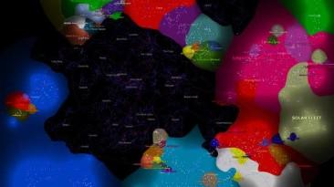 """EVE Online """"Карта суверенитета 2007-2017"""""""