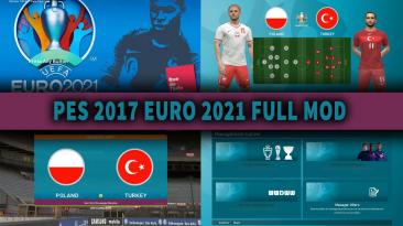 """PES 2017 """"EURO 2021"""""""